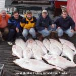 Halibat Fishing in Seldovia Alaska