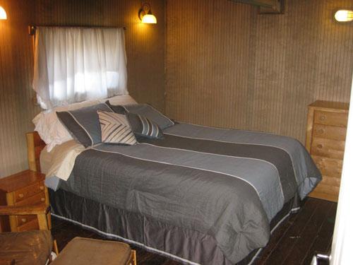 Rental Cabin Bedroom Seldovia Alaska