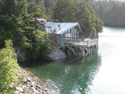 Rental Cabin at High Tide Seldovia Alaska