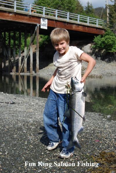 Salmon Fishing in Seldovia Alaska